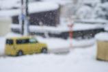 雪の日のドライブ