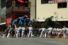 祇園祭~山鉾巡行~放下鉾