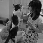 NIKON COOLPIX P6000で撮影した動物(空腹)の写真(画像)