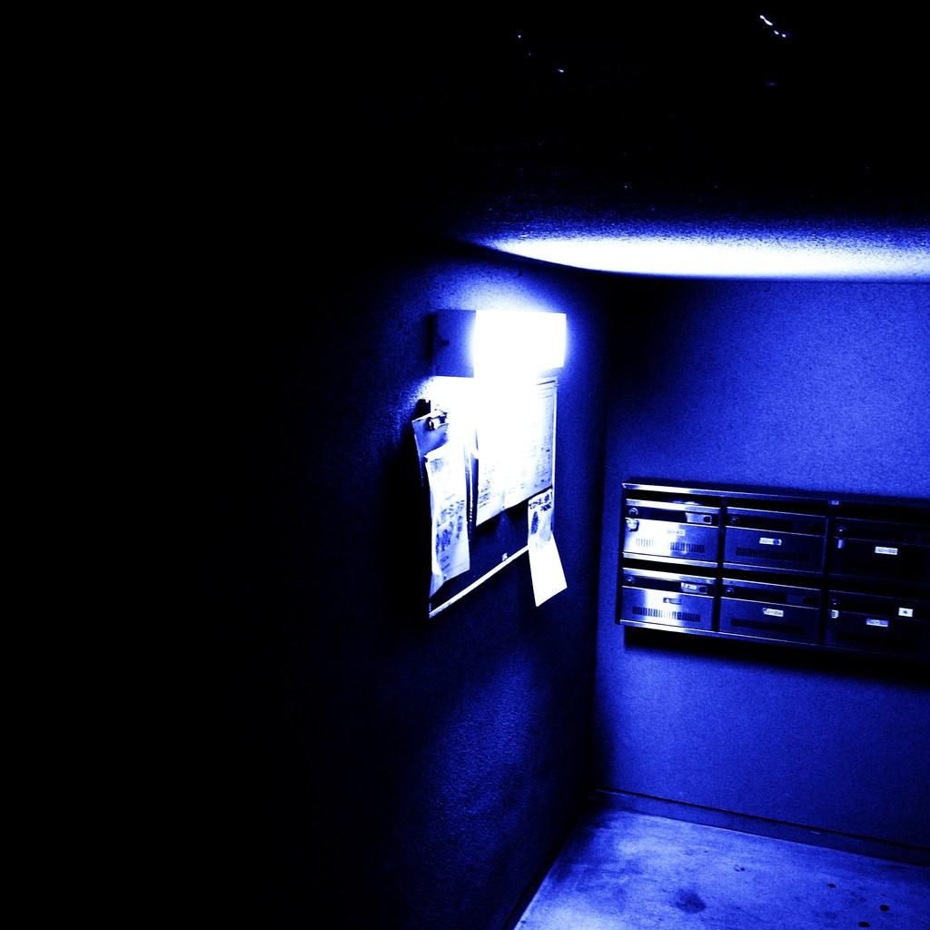 夜の郵便屋
