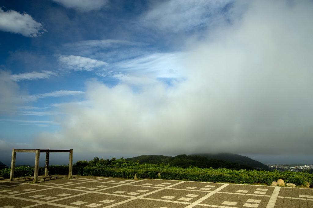 大きな雲現る