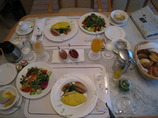 ホテルの朝食