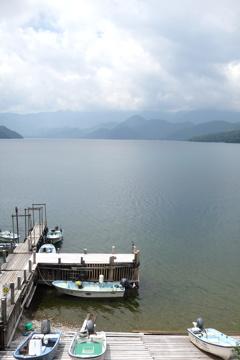 ボート乗場 中禅寺湖 2