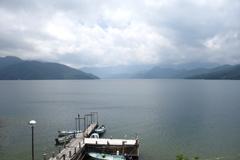 ボート乗場 中禅寺湖