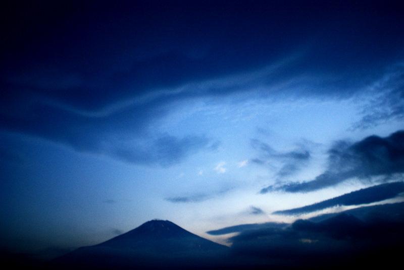 夏の雲 富士山