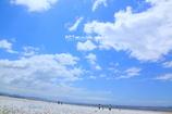 Marble Beach & Blue Sky
