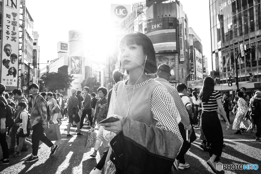 Shining lady