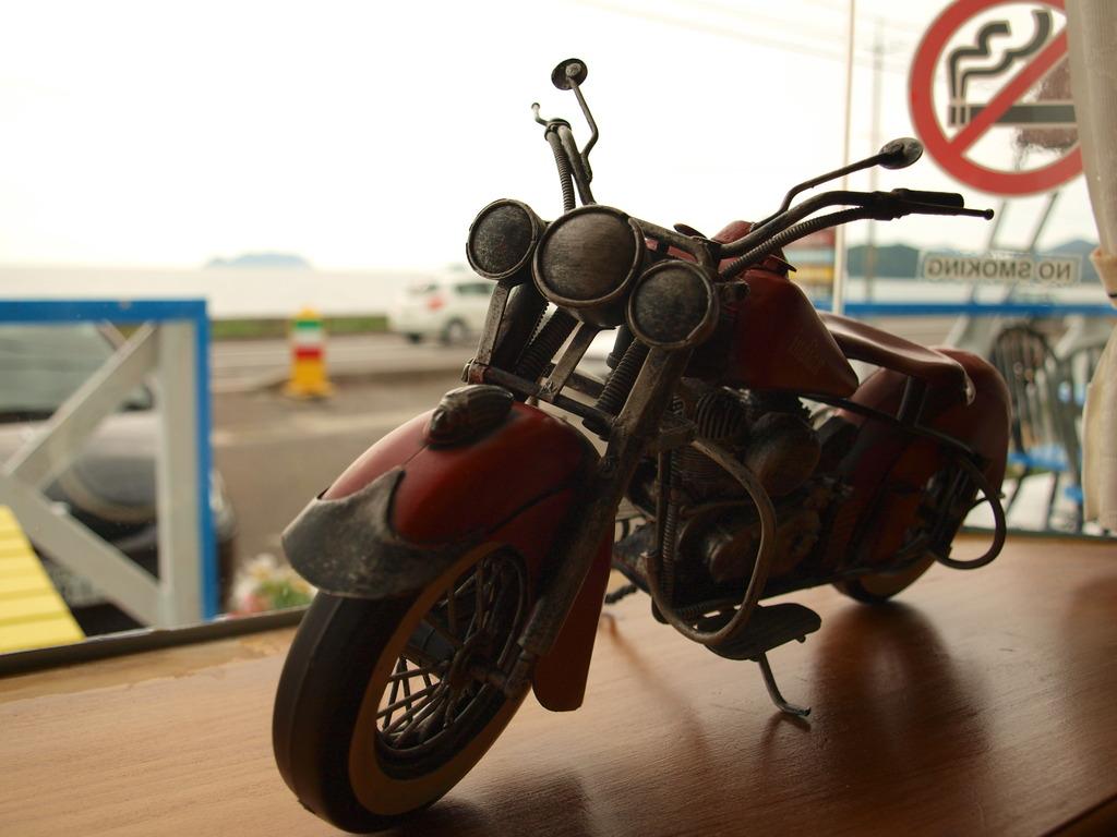 バイク好き。