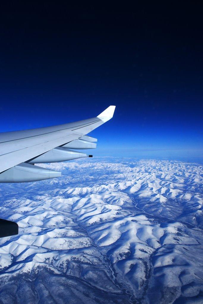 高度11,000メートルの生GoogleEarth