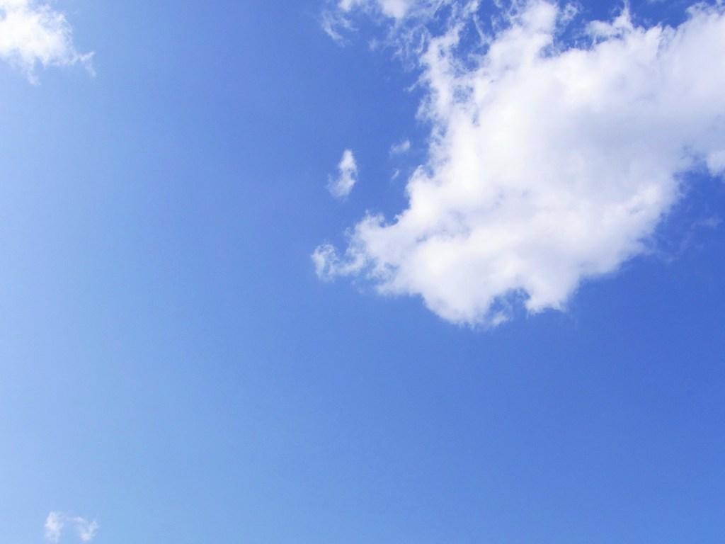 青空×白い雲
