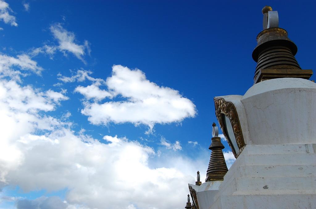 標高4000メートルの寺