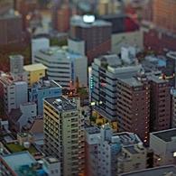 CANON Canon EOS 5D Mark IIで撮影した建物(ビル群1)の写真(画像)