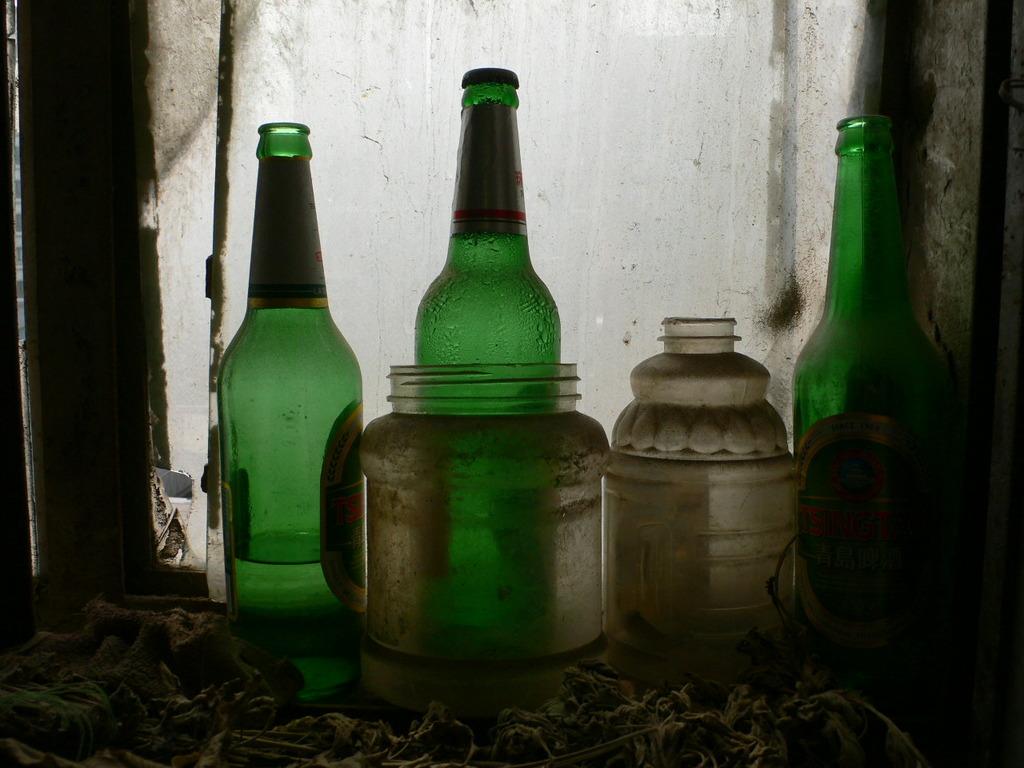 あの夏の記憶 緑色の瓶