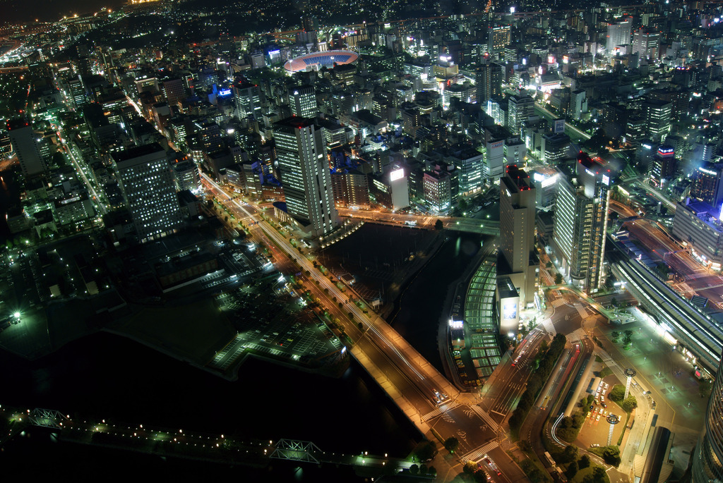 ランドマークタワーからの夜景4