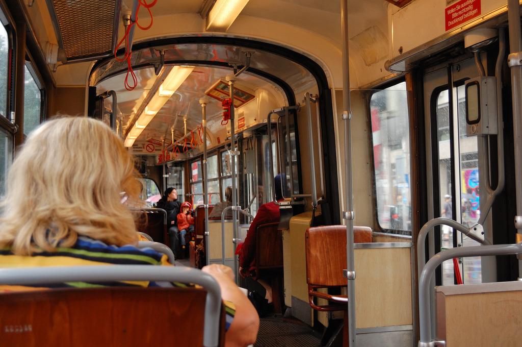 inner Seite von Tram
