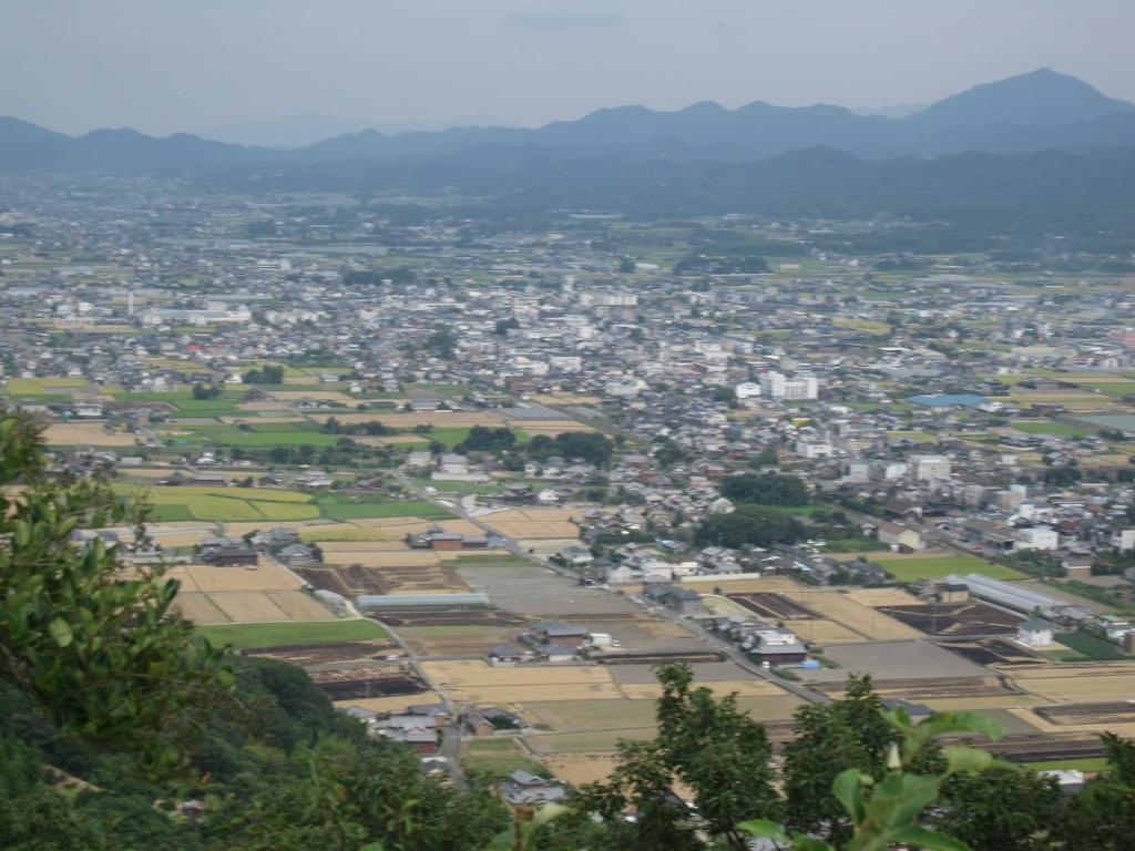 山からみる自分の町
