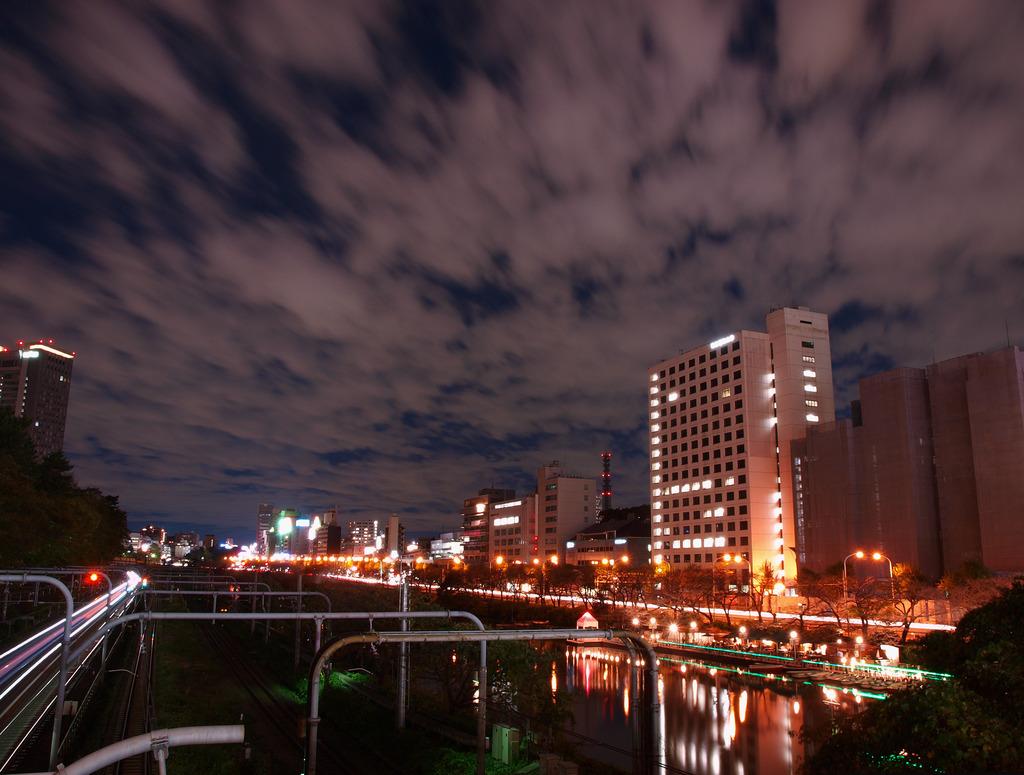 飯田橋付近から