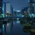 神田川と船