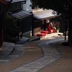 OLYMPUS E-520で撮影した風景(化野への道)の写真(画像)