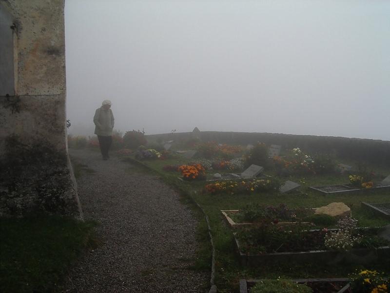 霧中の墓地(ソーリオ)