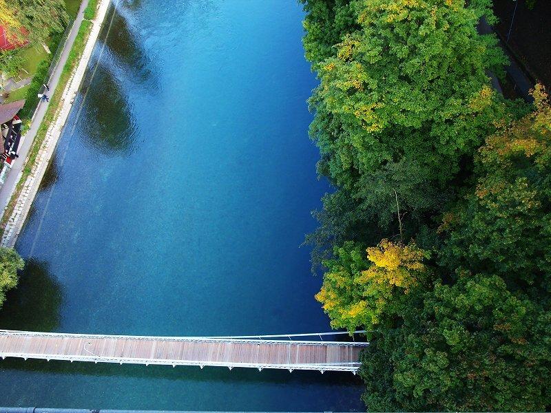 コルゲンハウス橋からの風景