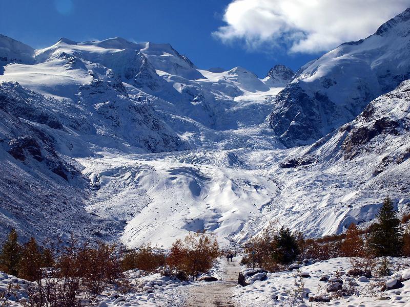 モルテラッチ氷河