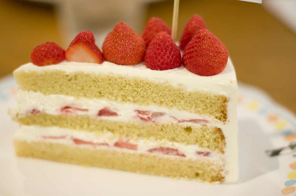 三鷹の森のショートケーキ