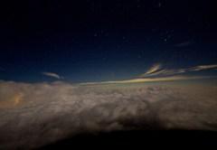空からの夜景