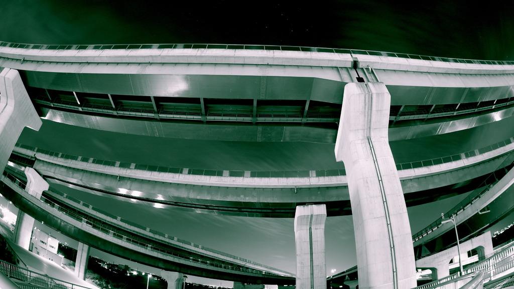コンクリート × 星空