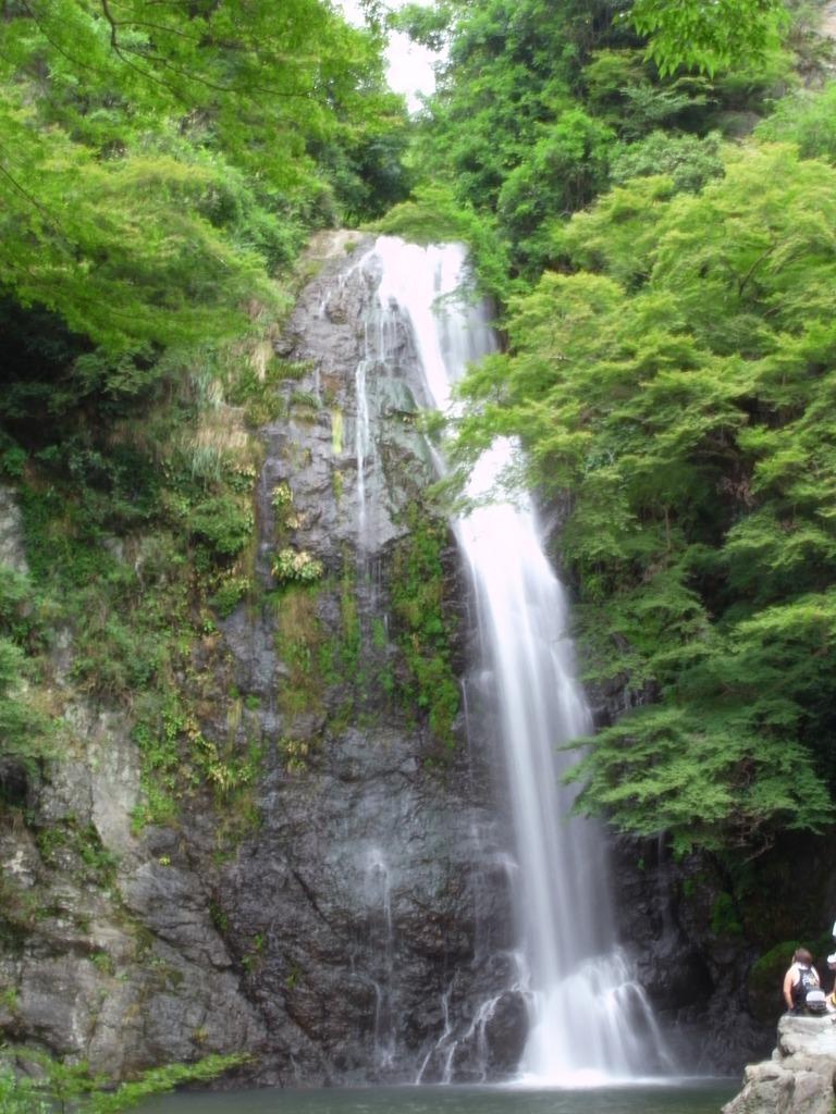 箕面の大滝3