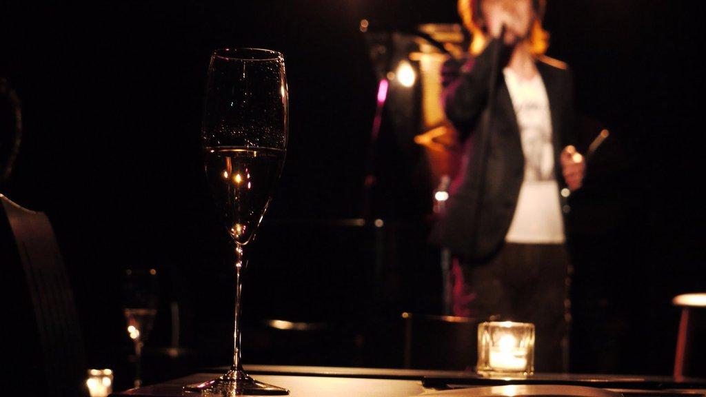 つれのライブででたシャンパン