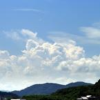 PENTAX PENTAX K20Dで撮影した風景(積乱雲)の写真(画像)