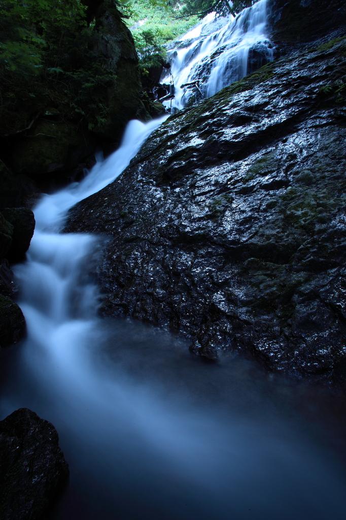 三本滝にて