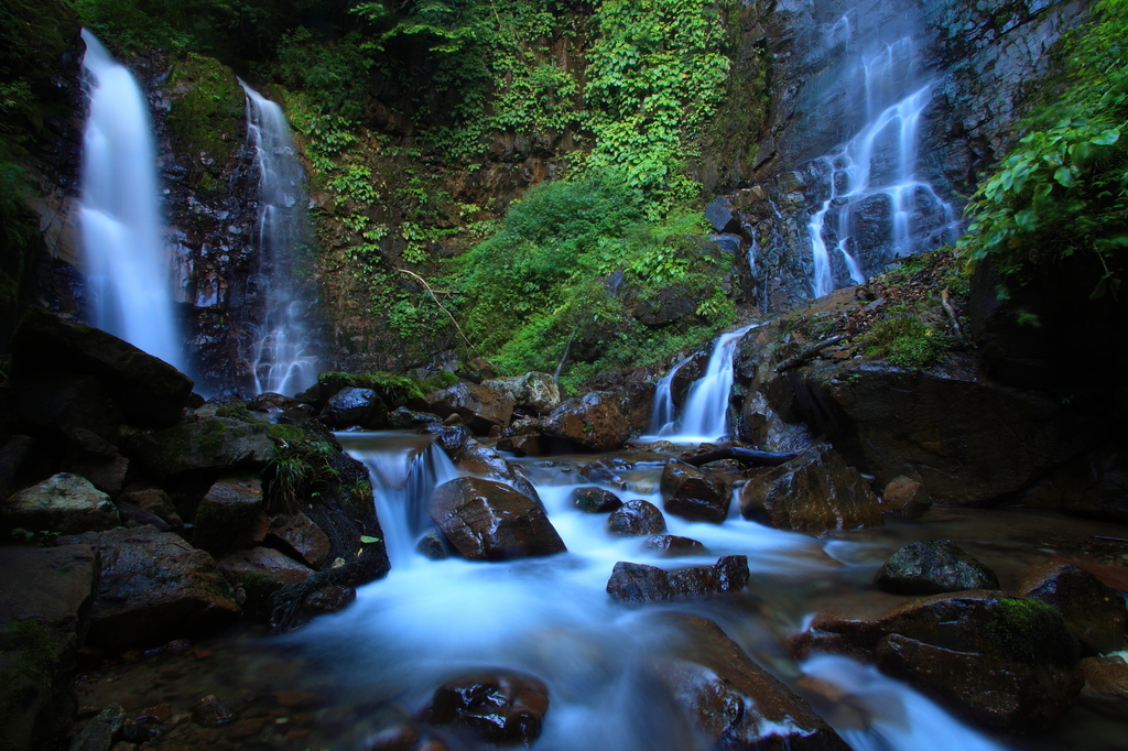 常虹の滝①