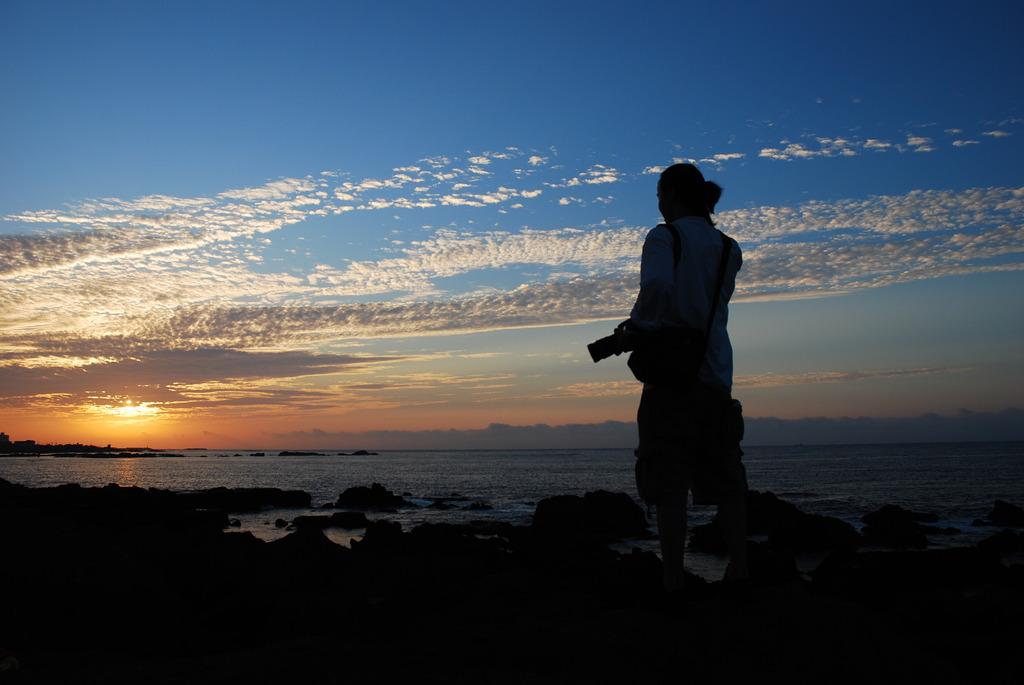 日の出を見るのは、初!!