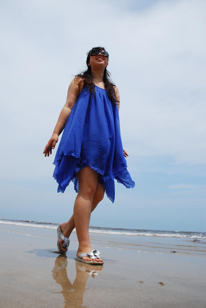 青色で夏と共に輝こう!