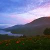 野反湖の朝