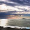 空の波と海の波