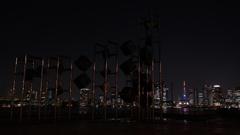 Tokyo bayside night cruising