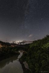 月夜の天の川4