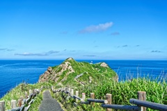 神威岬と積丹ブルー