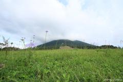 枡水高原より大山