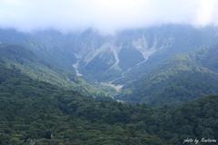 豪円山のろし台から大山02