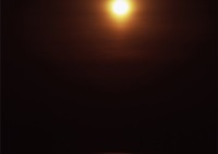 ROLLEI Rolleiflex SL66で撮影した(海から登る月)の写真(画像)