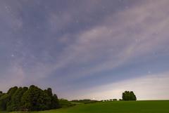 星と雲と草原