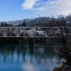 神通峡 高山線鉄橋