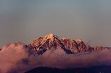 雲上の剣岳