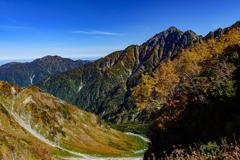 秋色の剱岳 2