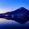 本栖湖からのMt  Fuji