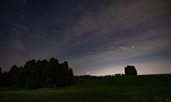 星と雲と草原Ⅱ